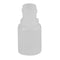 1/4 oz. Natural LDPE Plastic Boston Round Bottles (15-415)