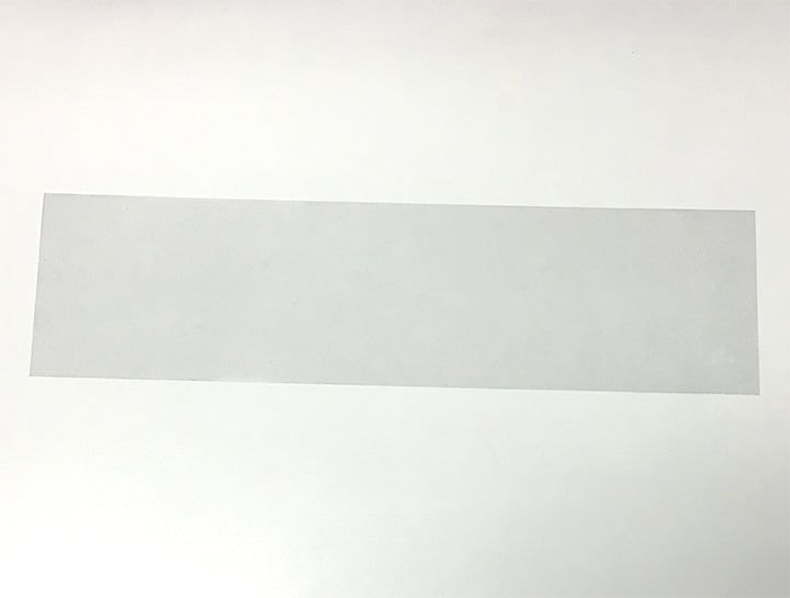 310 X 83 (mm), Non Perforated, Clear, Flat-Cut Shrink Bands (Fits Lid Size L610)