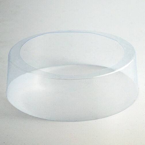 152 x 33 + 7 (mm) Non Perforated, Clear Preformed Round Shrink Bands (Fits Cap & Lid Sizes 89mm & L309)