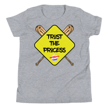 Load image into Gallery viewer, Kids' Trust The Process Tee - Baseball Tees