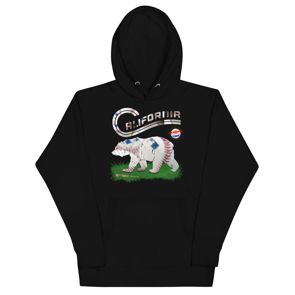 California Baseball Hoodie - Baseball Tees