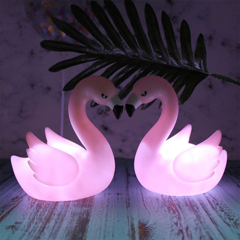 Veilleuse flamant rose - Leclairobscur