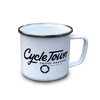 CYCLE TOWN CAMP MUG, 13 OZ.