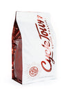 Cycle Town Coffee Roasters 5 LB. Bag Back & Side View