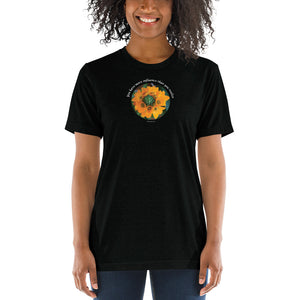 You have more influence than you realize_Unisex Tri-Blend T-Shirt | Bella + Canvas 3413