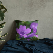 Load image into Gallery viewer, Philippine Violet Premium Pillow with White Back