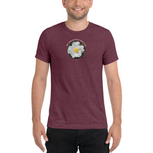 Load image into Gallery viewer, Your inherent Divine nature is joy_Unisex Tri-Blend Short sleeve T-Shirt | Bella + Canvas 3413