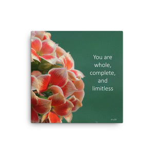 Kalancoe (You are whole complete and limitless)