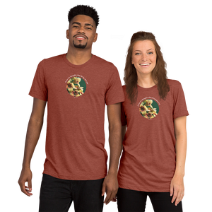 Focus on thoughts that bring you joy!_Unisex Tri-Blend T-Shirt | Bella + Canvas 3413