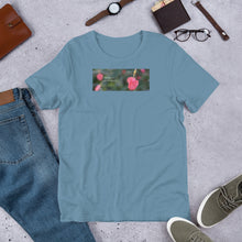 "Load image into Gallery viewer, Pink Turk's Cap  ""Believe in your truest self""  Short-Sleeve Unisex Premium T-Shirt - Bella + Canvas 3001"