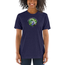 Load image into Gallery viewer, You are a unique expression of the Divine_Unisex Tri-Blend T-Shirt | Bella + Canvas 3413