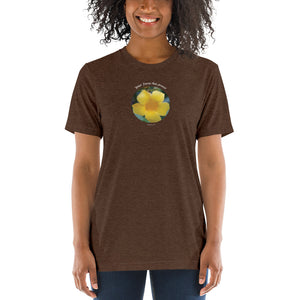 Your Focus Has Power_Unisex Tri-Blend T-Shirt | Bella + Canvas 3413