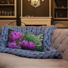 Load image into Gallery viewer, Siam Tulips Premium Pillow with White Back
