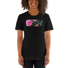 Load image into Gallery viewer, Love Life!  Funky Pink Begonia Short-Sleeve T-Shirt