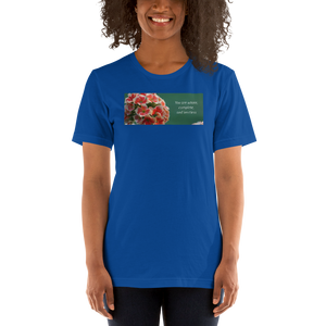 """You are whole, complete and limitless"" Kalanchoe.  Short-Sleeve T-Shirt"