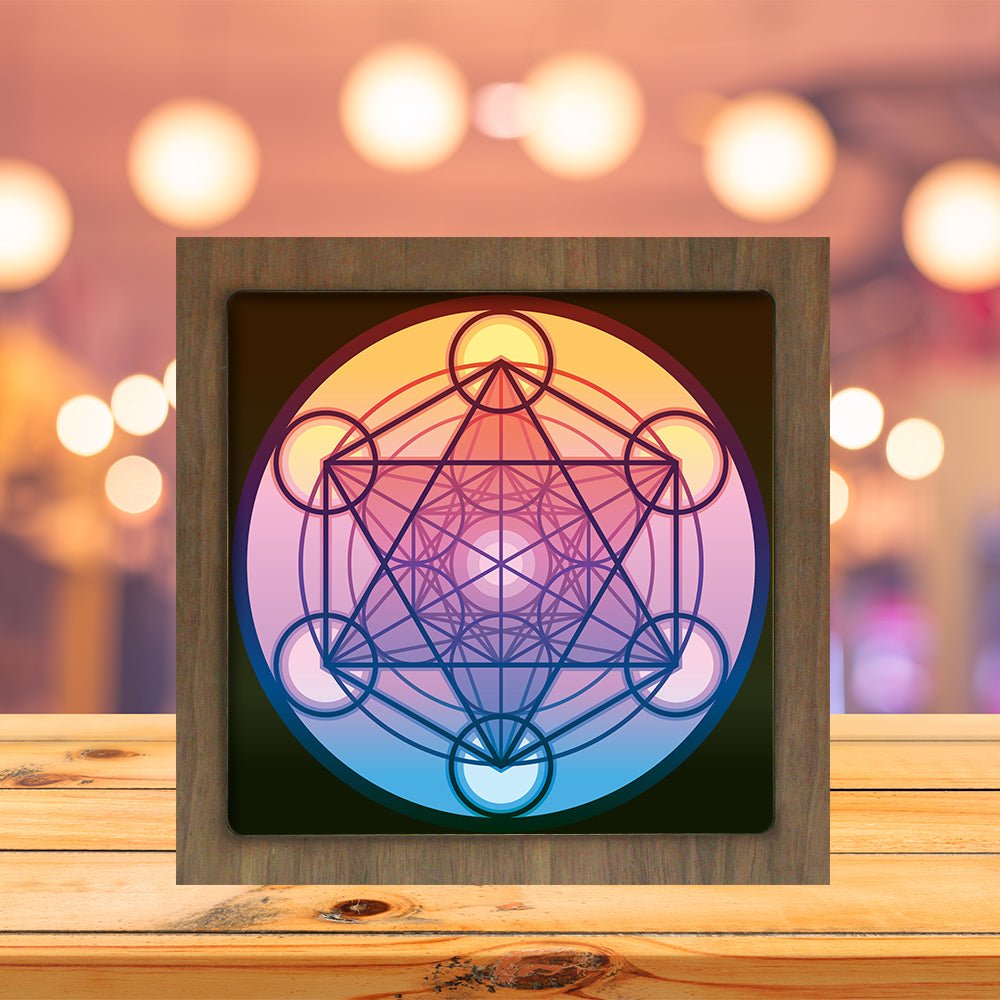 Happy Easter – 3D Paper Cutting Light Box SVG Template files, 3D Shadow box Template SVG files, 20x20 cm