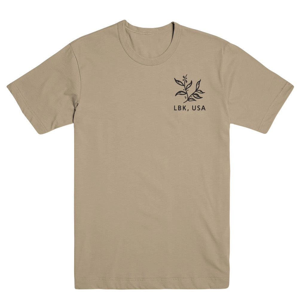 Cream Sugar Browns Short Sleeve Tee