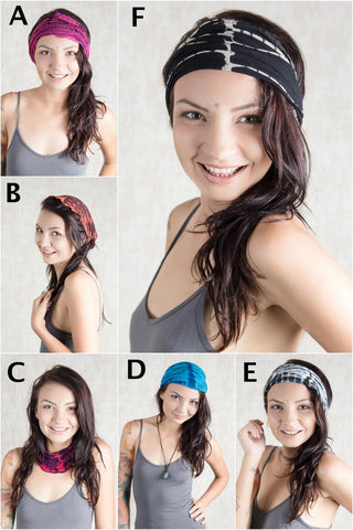 Brisbane Headbands 6 PCS Set