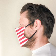 Load image into Gallery viewer, American Flag Cloth Face Mask with PM2.5 Filter