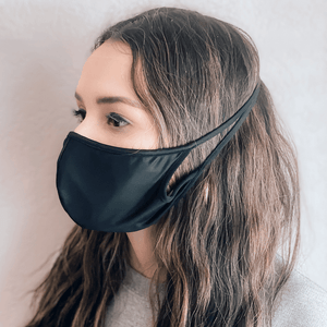 Black Cloth Dust Mask