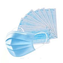 Load image into Gallery viewer, Wholesale Disposable Blue Face Masks