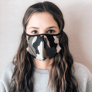 Camouflage Cloth Mask