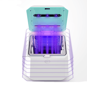 UV Sterilization Box with CPAP Adapter