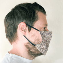 Load image into Gallery viewer, Leopard Print Cloth Face Mask with PM2.5 Filter