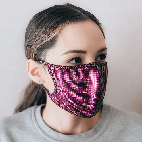 Pink Cloth Face Mask