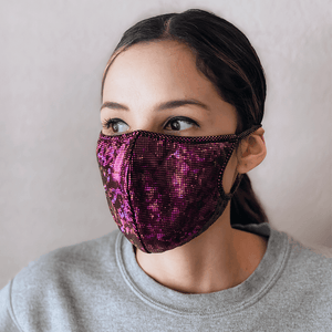 Pink Cloth Mask