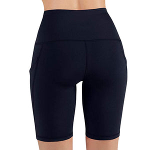 High Waist Running Shorts w/ Phone Pocket