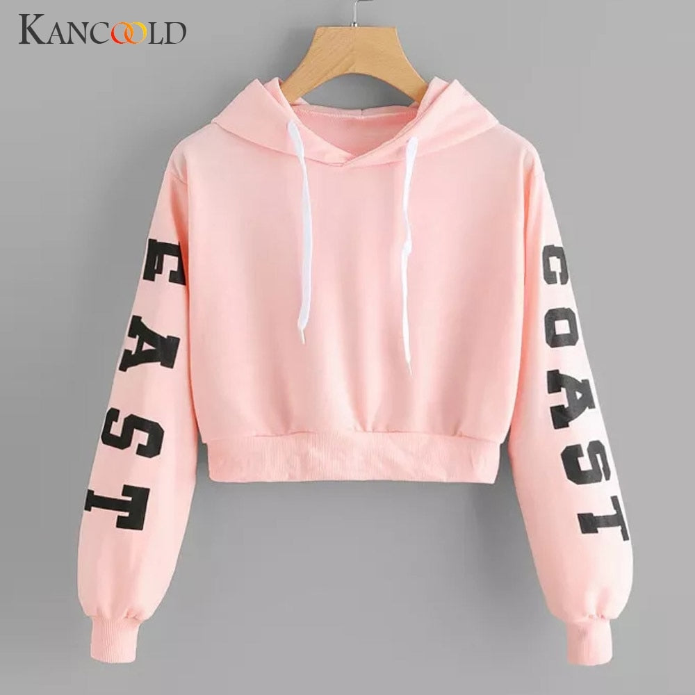 East Coast Hooded Crop Top