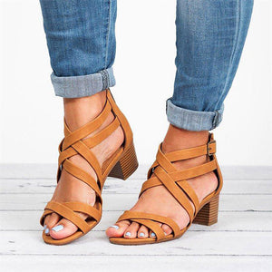 Casual Sandals with Back