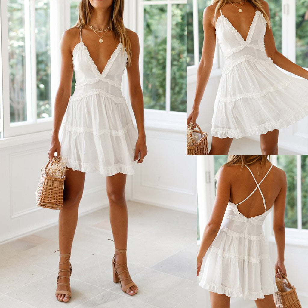 Ruffled Summer Dress