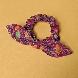 Scrunchie Autum Leaves