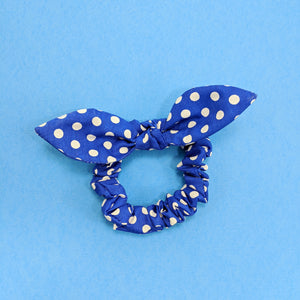 Scrunchie Royal con Puntos
