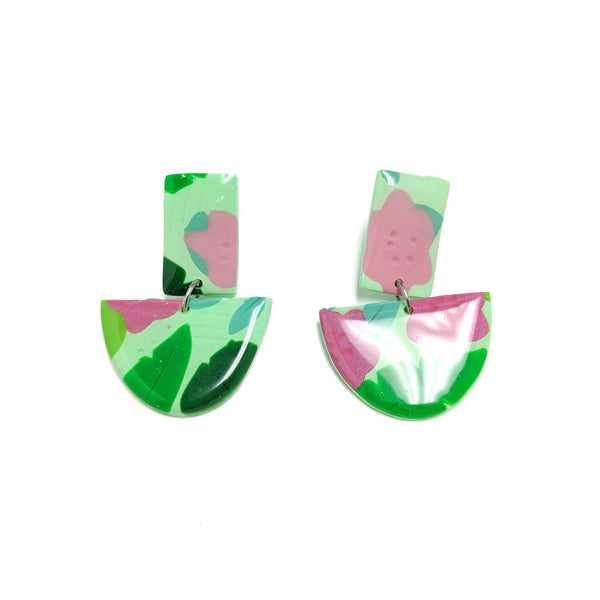 Tropic Mint - Modern Moon Dangles