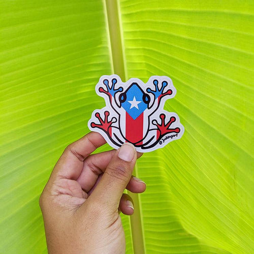 Sticker - Coqui Bandera