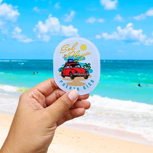Sticker - Sol Playa Volky