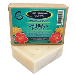 Oatmeal and Honey Bar Soap
