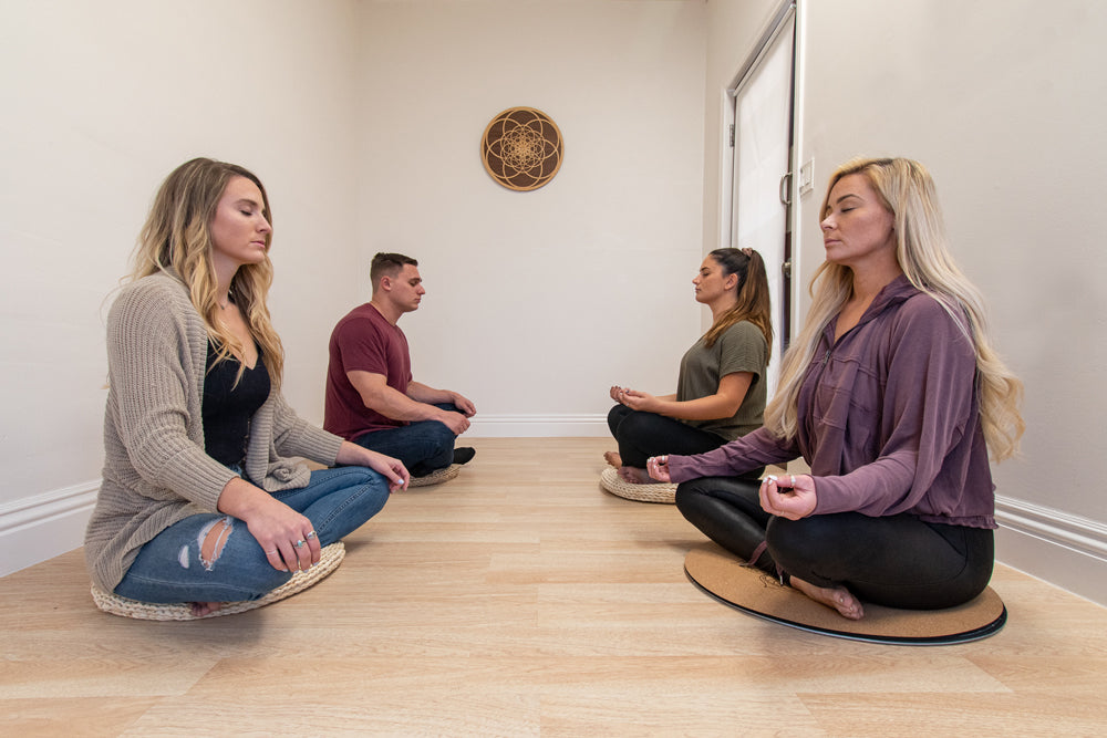 Private Meditation Room at Meditation Supply Store
