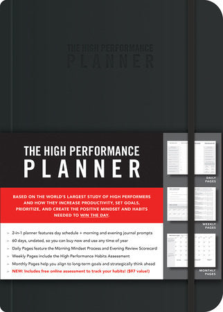 The High Performance Planner [Black]