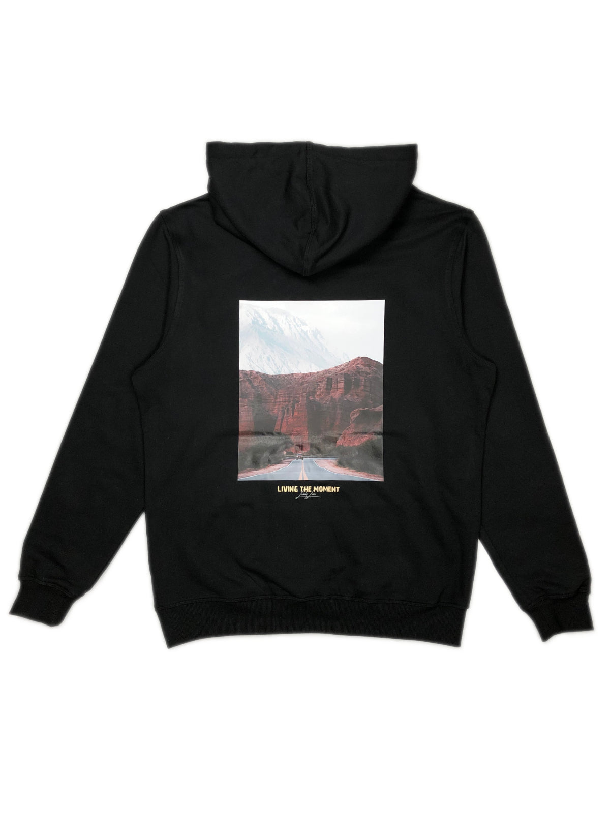 THE MOMENT HOODIE BLACK