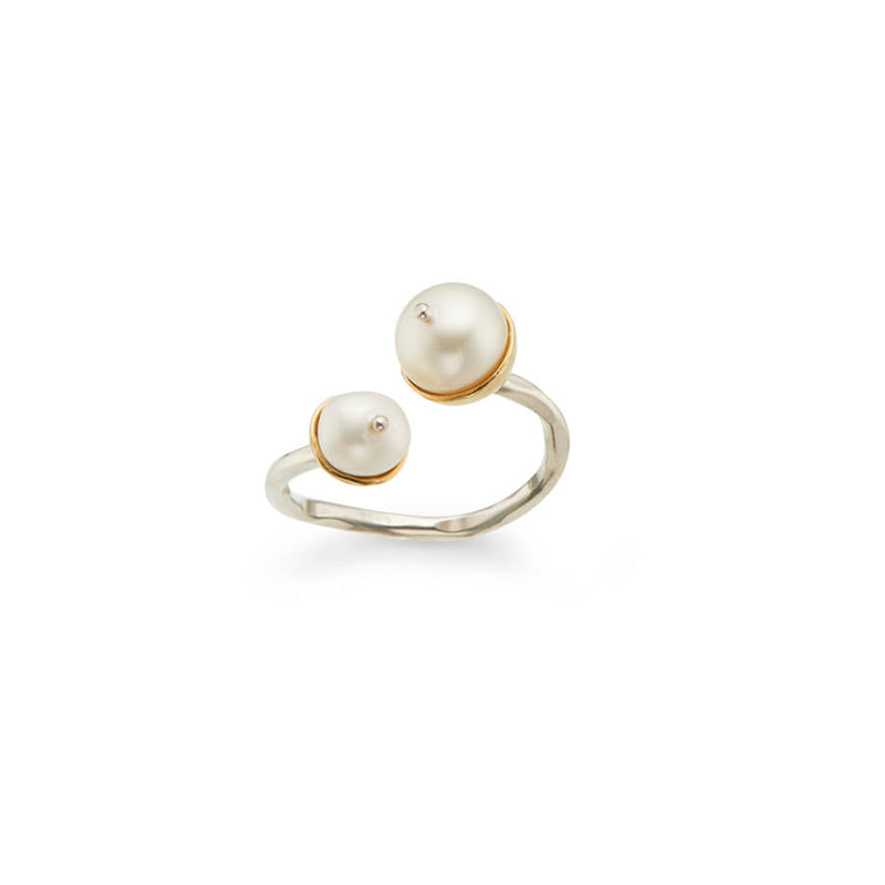 Purity and Protection Pearl Ring