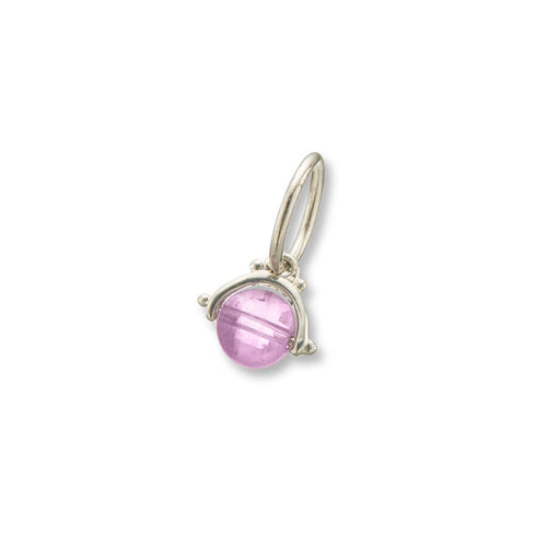 Amethyst Protection Spinner Charm