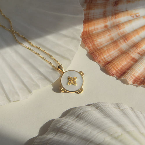 Harmony Mother Of Pearl Necklace
