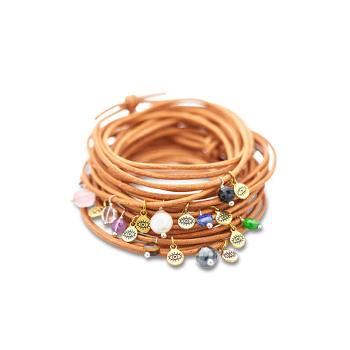 Protection Gem Wrap Bracelet