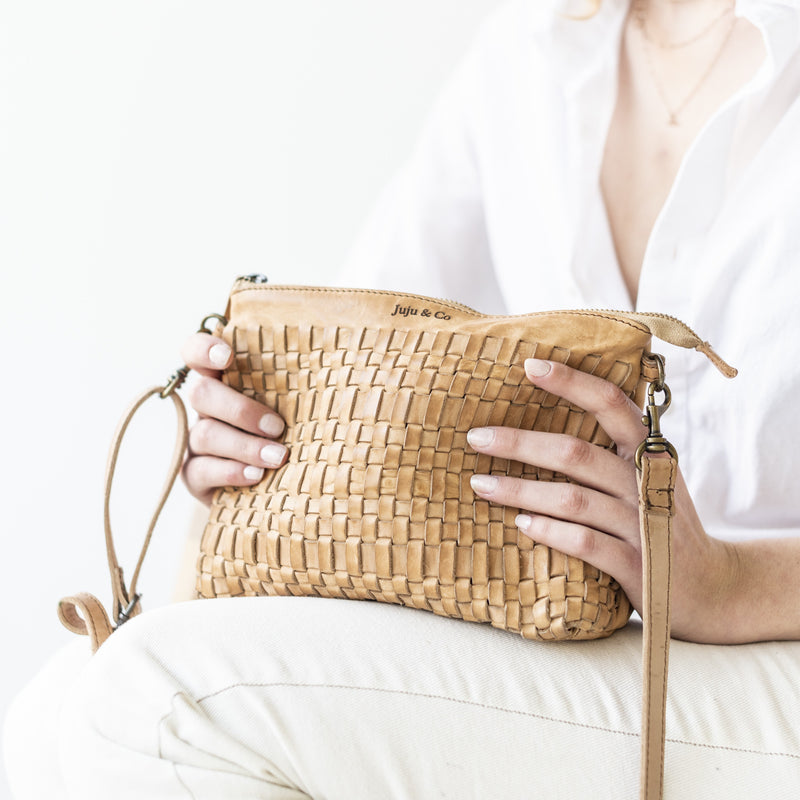 Woven Pouch Bag