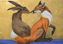 Load image into Gallery viewer, Hare and Fox Postcard Pack