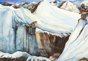 The Snow Leopard Postcard Pack
